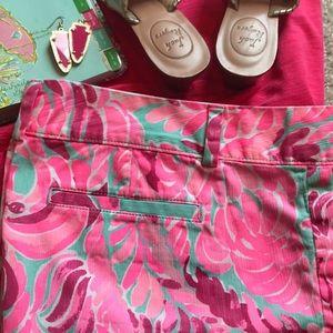 Lilly Pulitzer Shorts - Love Birds Chipper Shorts